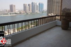 Nile View Semi Furnished Apt  For Rent In Prime Location
