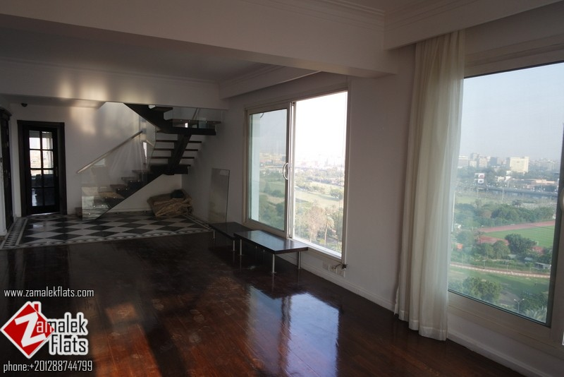 Nile View Duplex For Rent In South Zamalek