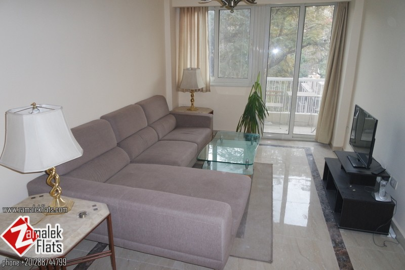 New Modern Furnished And Renovated Apt in Zamalek