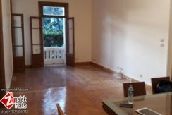 HIGH CEILING SEMI FURNISHED FOR RENT IN SOUTH ZAMALEK