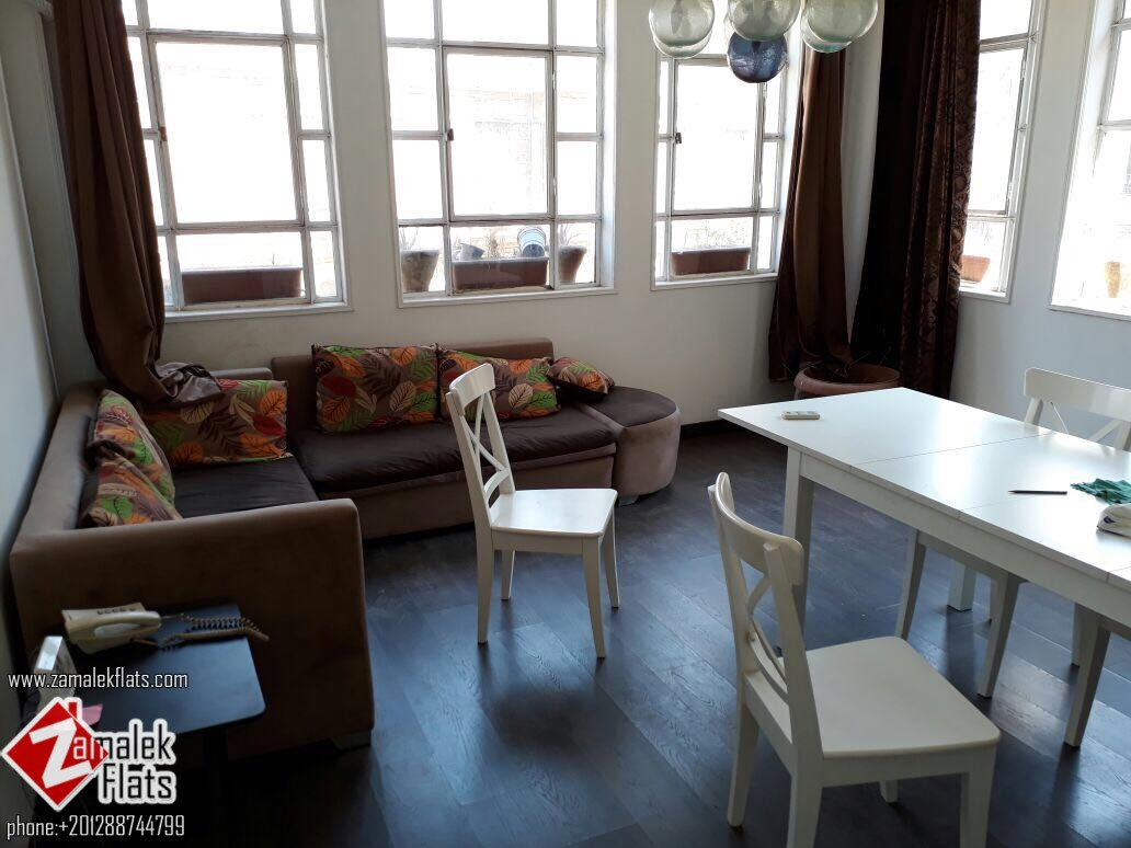 Old building  Apartment For Rent In Zamalek