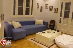 modern  apartment with balcony for rent in zamalek