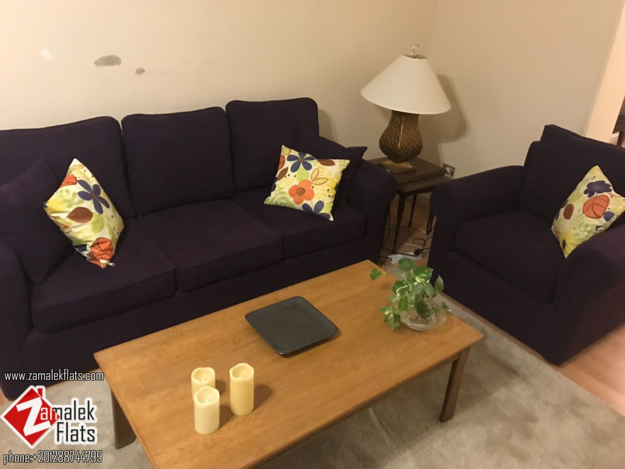 Ultra Modern Furnished Apartment For Rent In Zamalek