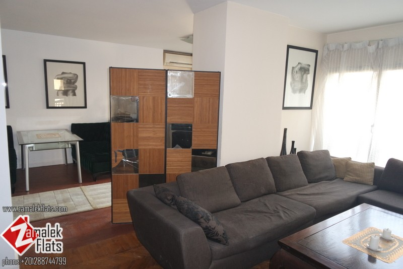 fully Furnished Apartment For Rent In Zamalek
