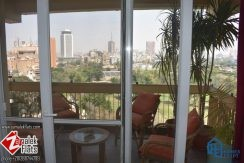Semi Furnished Newly Renovated Apartment South Zamalek Gezira Club View