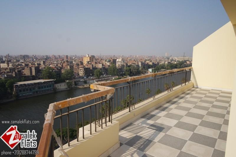 Panoramic Nile View + Semi Furnished Apt + Brand New Finishing