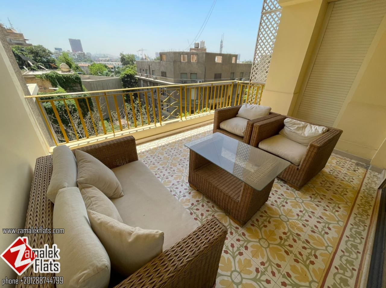 New Finished Apartment for Rent in South Zamalek