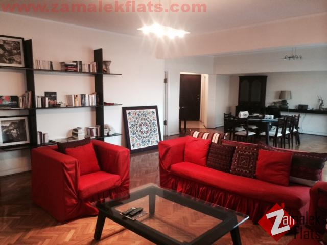 SUNNY AND CHARMING Apt For Rent In Zamalek