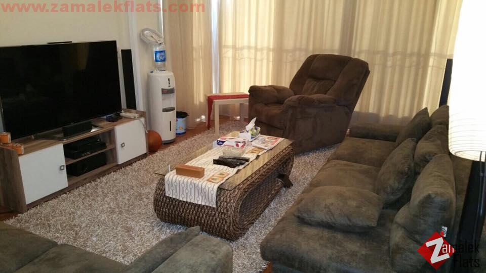 Fully Furnished Apartment For Rent In Zamalek Nile View
