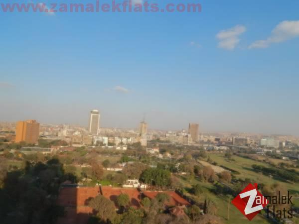 Semi Furnished Nile View  Duplex For Rent