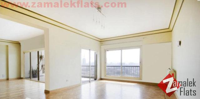 Semi Furnished Apartment For Rent ( over looking gazira club )