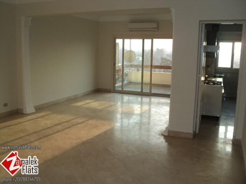 Nile  View Semi Furnished Apartment For Rent