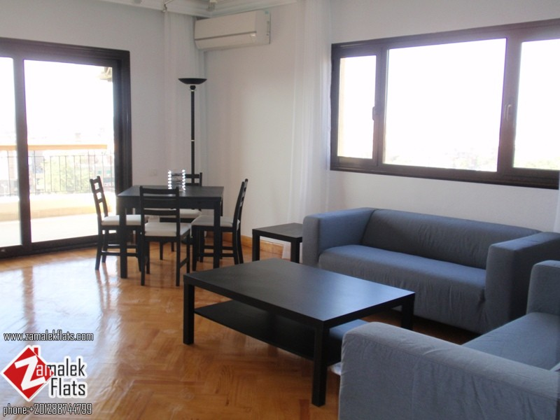 Wonderful New Renovated +  Nile View Apartment For Rent In Zamalek