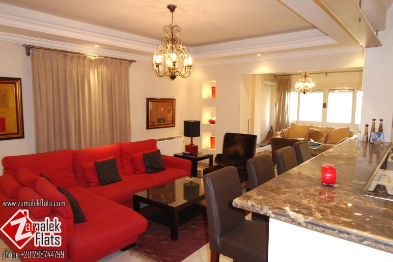 Modern Apartment For Rent In SouthZamalek