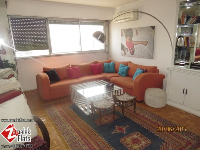 Super Bright ___Furnished Apartment___ With An Open View_____ Large Balcony __High floor