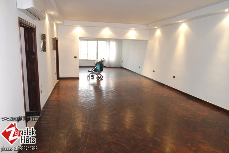 New Semi Furnished Flat For Rent In Zamalek