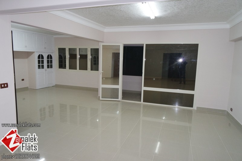 First Rent New Renovated unfurnished apartment for rent in zamalek