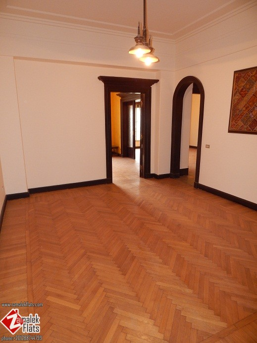 High Ceiling Semi Or Fully  Furnished Apartment For Rent In Zamalek