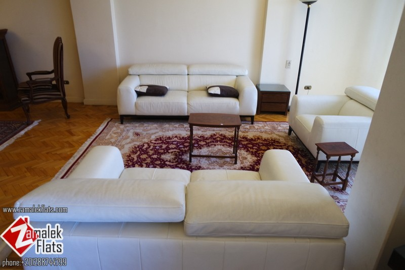 Well Furnished and Renovated Apartment For Rent South Zamalek