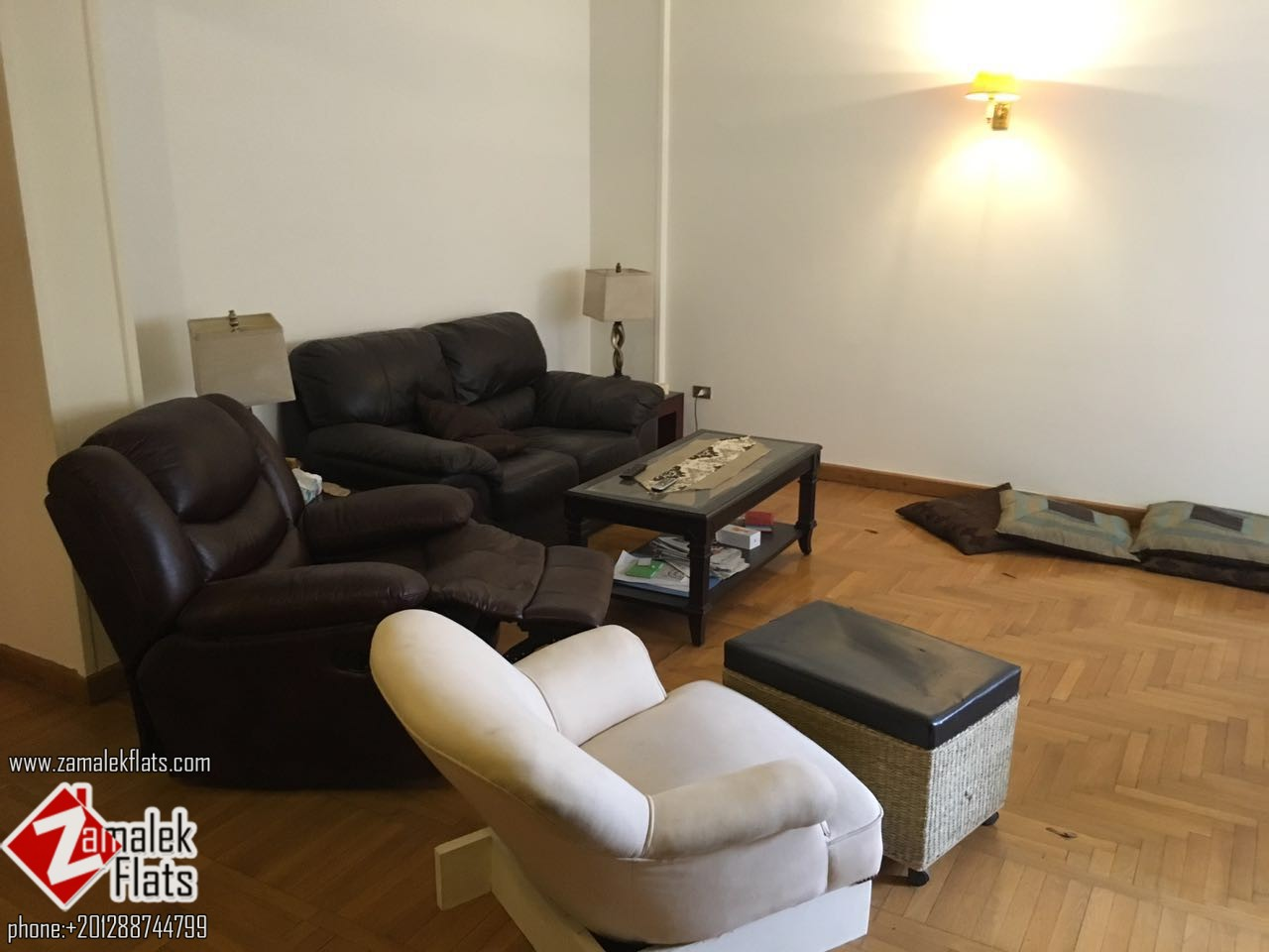 Apartment for rent in zamalek at shopping area