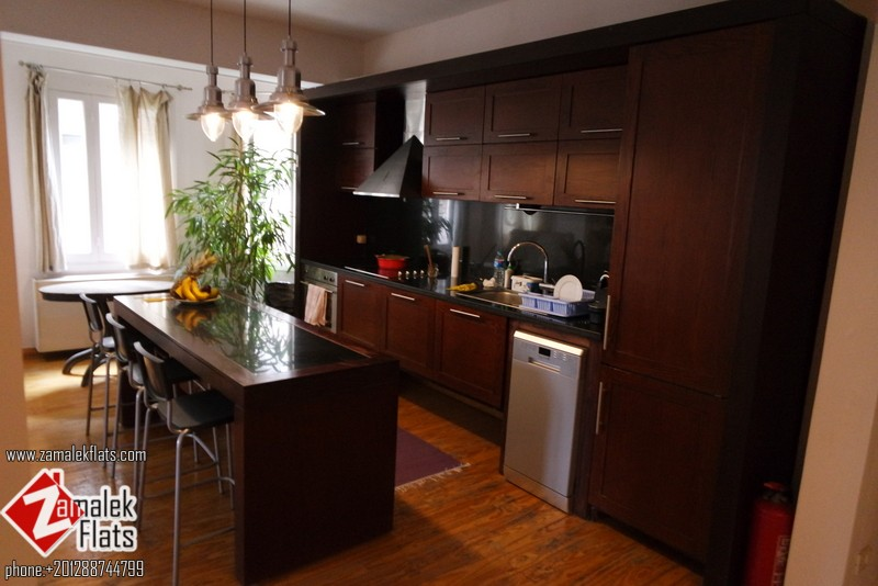 Furnished Apartment In  Wonderful Old Building