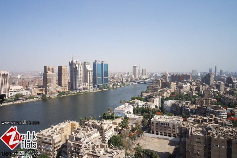 Nile View Modern Furnished Apt For Rent
