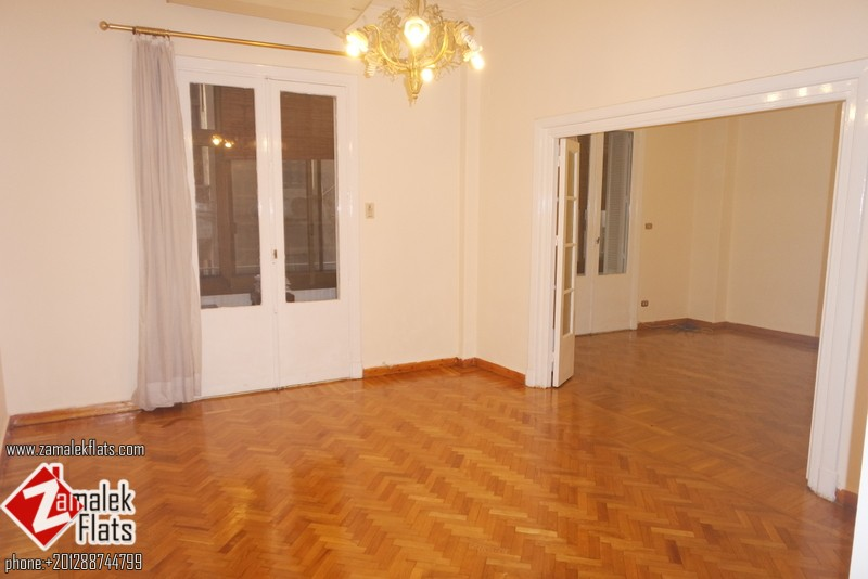 High Ceiling + Fresh Painted  Semi Furnished Apartment For Rent