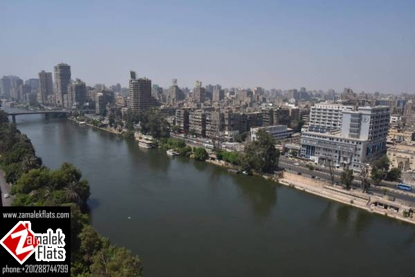 Nile View + Comfortable + Furnished Flat in South Zamalek