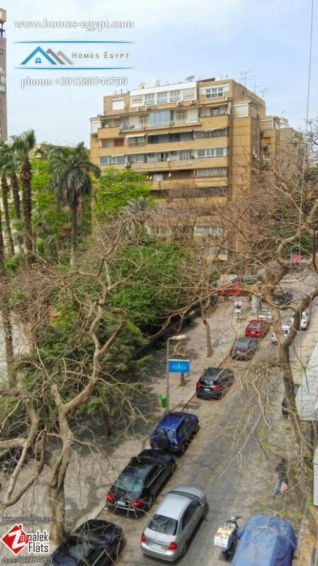 Bright apartment with Asmak Garden view for Sale in Zamalek