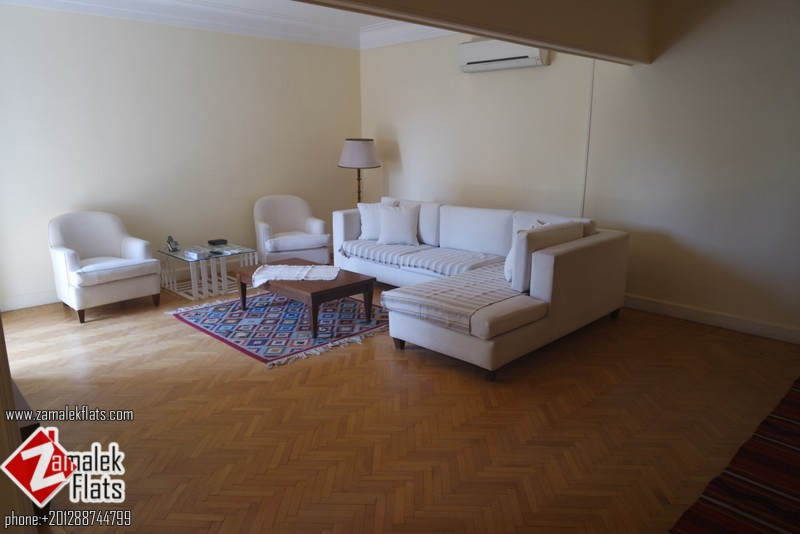 apartment for rent  in south zamalek with a good price