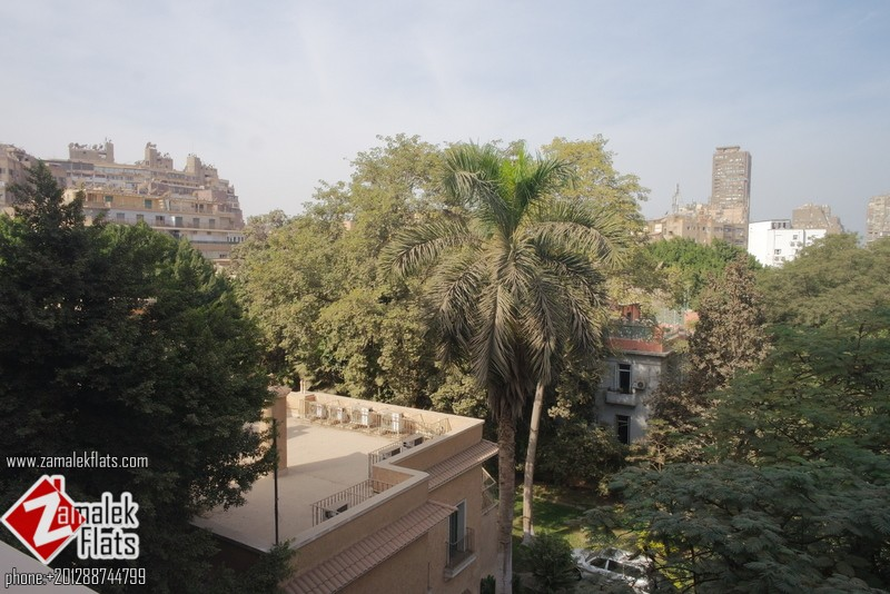 Clean Fully Furnished Apartment For Rent In Zamalek