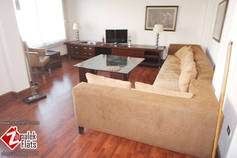 Ultra Modern Apartment + Nile view + 2 BR   2.5 bATH