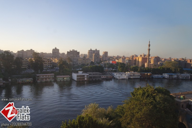 Semi Furnished Apt For Rent In Zamalek