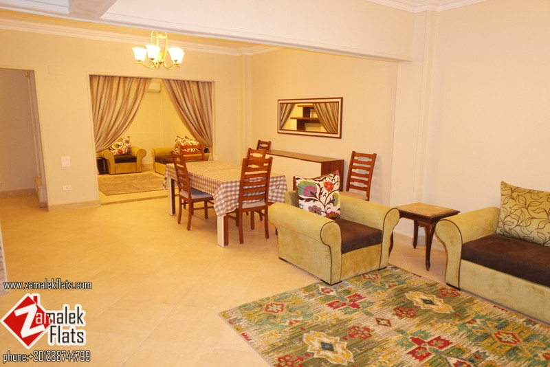 New Furnished & Renovated Apt In Zamalek