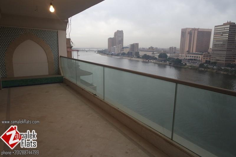 Nile View Brand New Semi Furnished In Zamalek