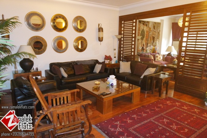Furnished Three Br  Apt South Zamalek
