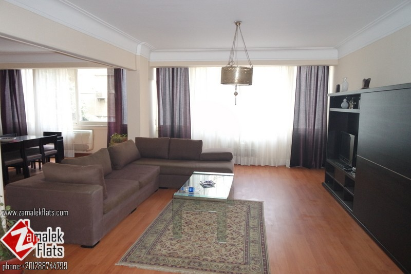 Newly Renovated Modern Furnished For Rent In Zamalek