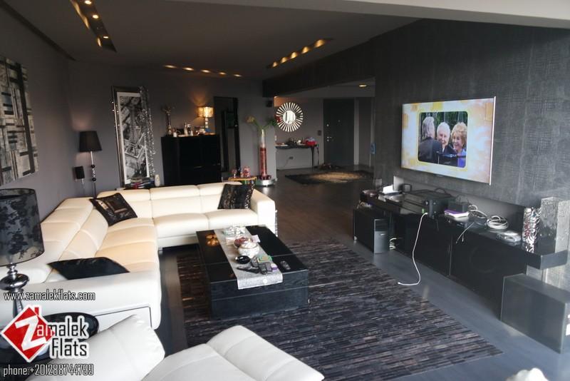 Stylish & Modern Apt For Rent In Zamalek