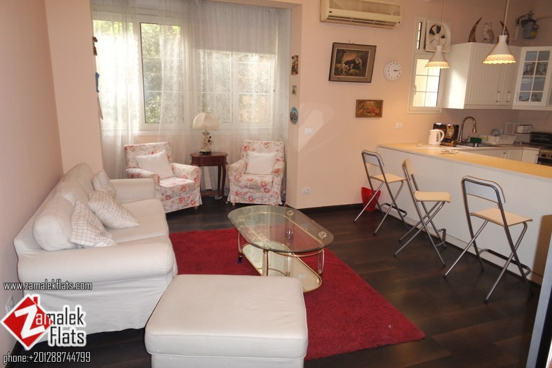 Modern Furnished 3 bedroom apt + Open Kitchen for rent in zamalek