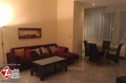 High ceiling furnished apt in zamalek for rent