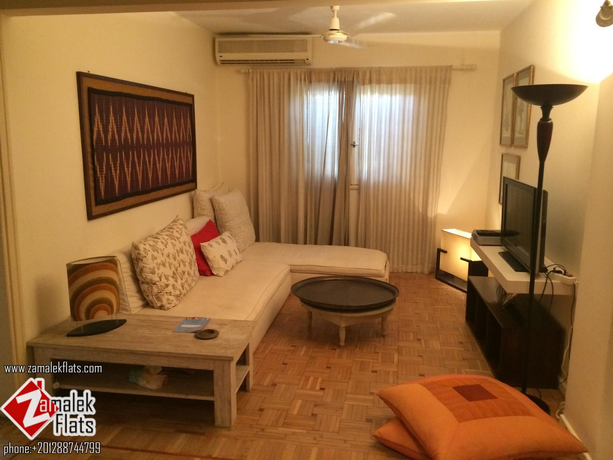 Comfortable Furnished Apt In Zamalek