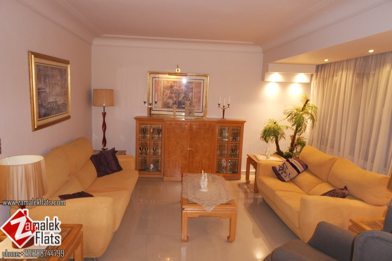 Classy large apartment for rent in zamalek