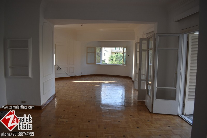 Good size apartment for rent in Zamalek