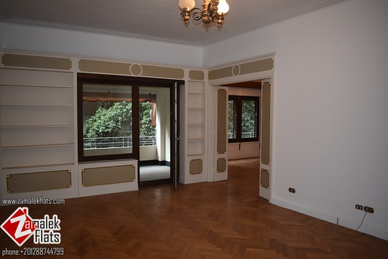 GOOD SIZE APARTMENT FOR RENT IN SOUTH ZAMALEK