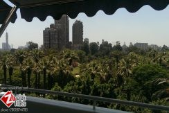 High Ceiling Apt In South Zamalek + Balcony & Garden View