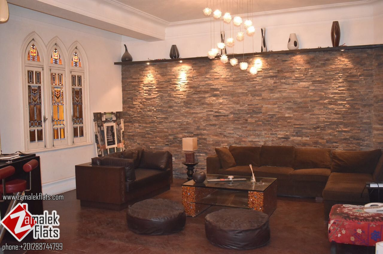 elegant apartment in zamalek