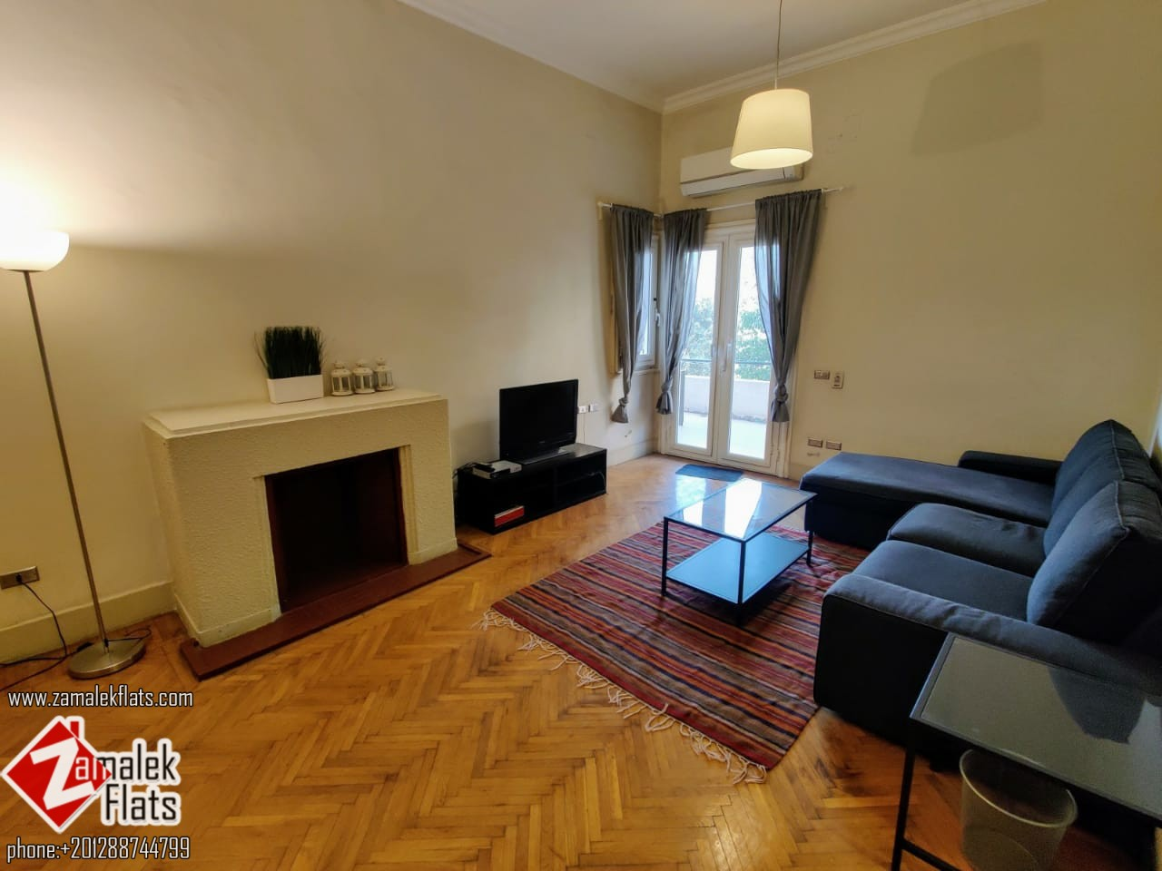 Nile River View Apartment for rent in Zamalek