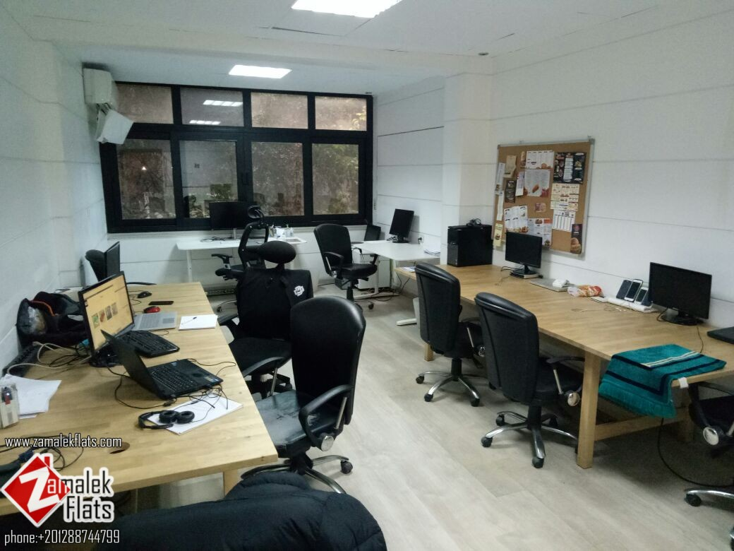 Office for rent in zamalek