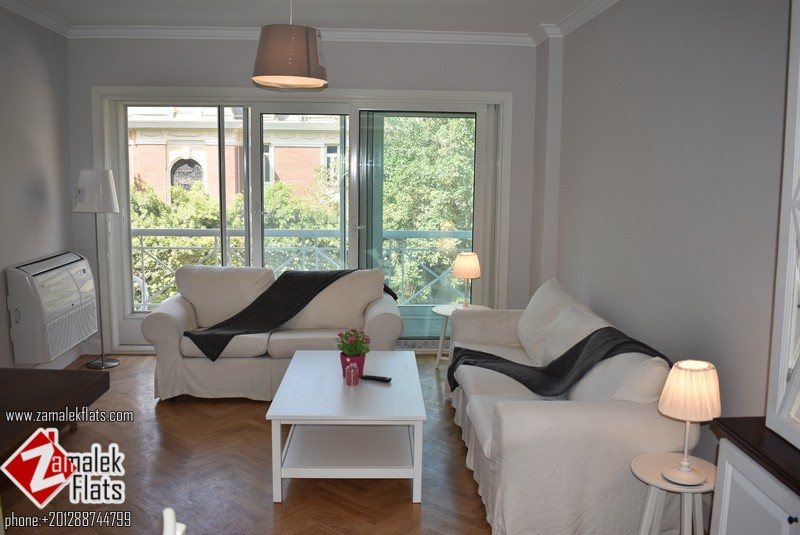 Modern Apartment Renovated In Zamalek For Rent