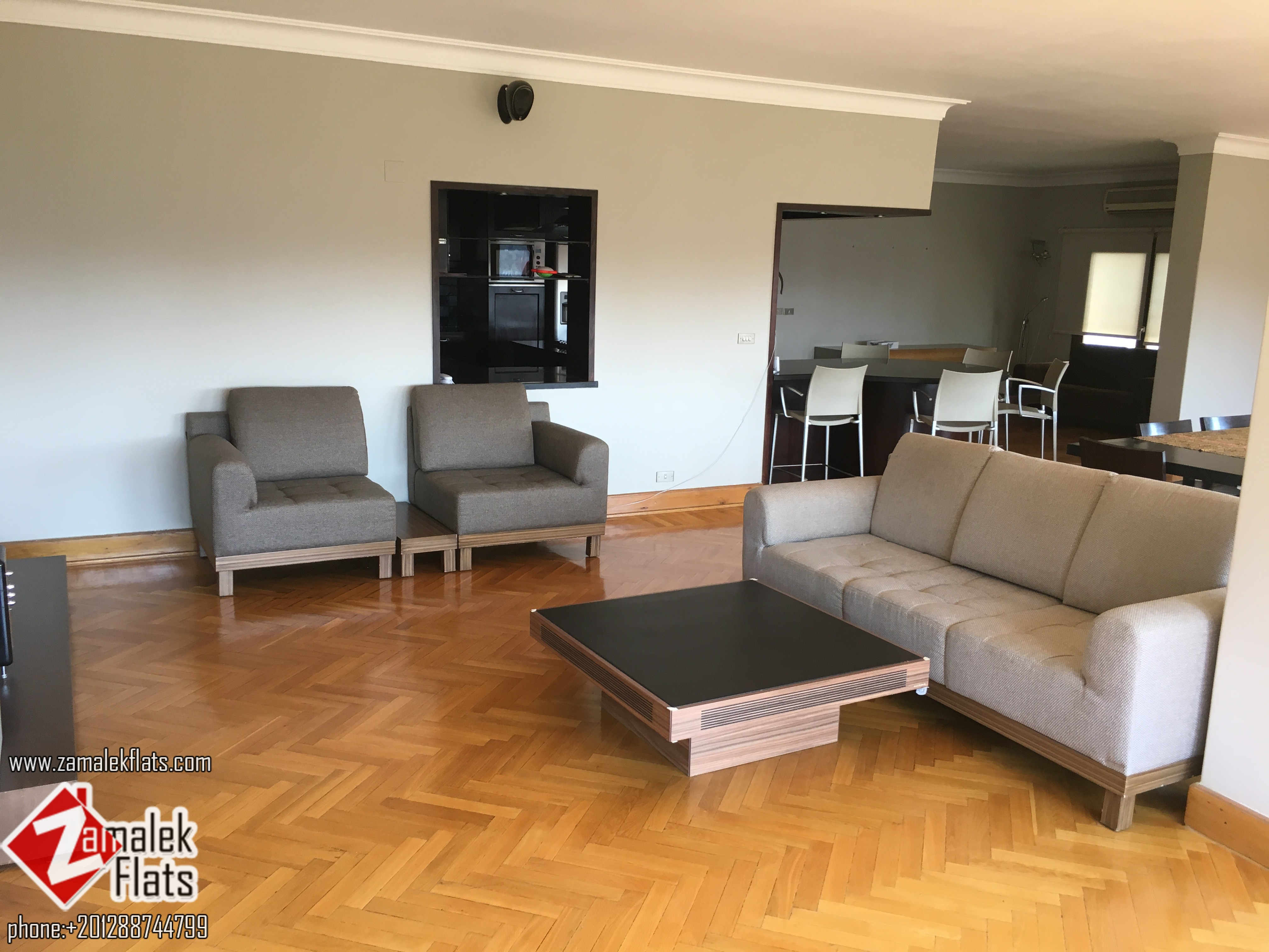 Modern super lux apartment for rent in south zamalek